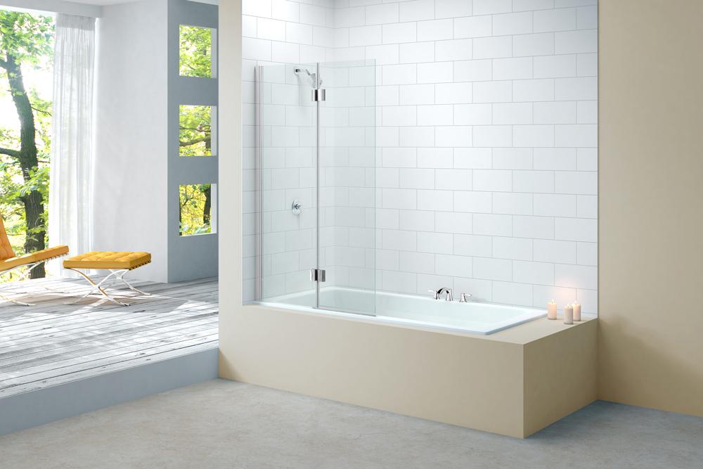 Mira bath shower screen powerpack 600